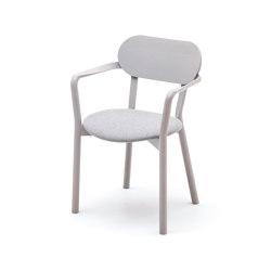 Castor Armchair Plus Pad   Stühle   Karimoku New Standard