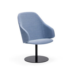 Sola lounge chair, discbase | Sillas | Martela