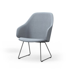 Sola lounge chair, frame base | Stühle | Martela