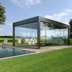 Glass canopy SDL Acubis   Winter gardens   Solarlux