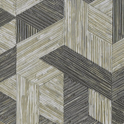Formentera | Juego de paja VP 717 09 | Wall coverings / wallpapers | Elitis