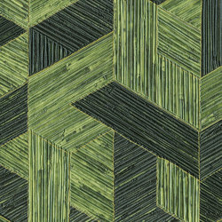 Formentera | Juego de paja VP 717 13 | Wall coverings / wallpapers | Elitis