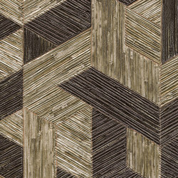Formentera | Juego de paja VP 718 03 | Wall coverings / wallpapers | Elitis