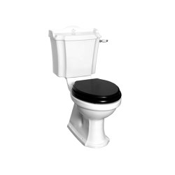 London monoblock toilet with handle Bottom outlet | WC | Kenny & Mason