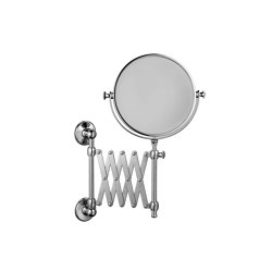 Extending wall mounted shaving mirror | Bath mirrors | Kenny & Mason