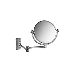 Wall mounted double armed shaving mirror | Bath mirrors | Kenny & Mason
