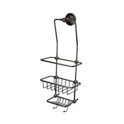 Wall mounted shower basket | Jaboneras | Kenny & Mason