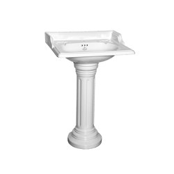 Oxford basin with fluted pedestal | Wash basins | Kenny & Mason