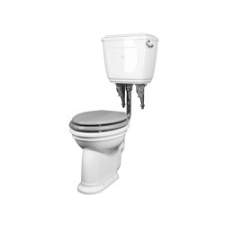 Oxford low level toilet with handle Horizontal outlet | WC | Kenny & Mason