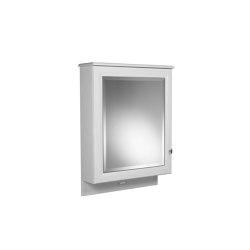 Oxford 1 door wall cabinet with mirror | Mirror cabinets | Kenny & Mason