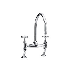 Kitchen bridge mixer Crosstops | Kitchen taps | Kenny & Mason