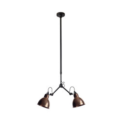 LAMPE GRAS - N°305 | raw copper | Ceiling lights | DCW éditions