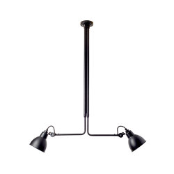 LAMPE GRAS - N°314 | black satin | Ceiling lights | DCW éditions