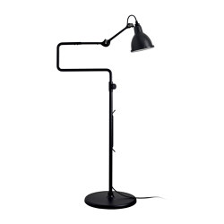 LAMPE GRAS | XL OUTDOOR SEA - N°411 | black satin | Außen Standleuchten | DCW éditions