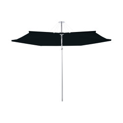 Infina ALU Round Black | Parasols | UMBROSA
