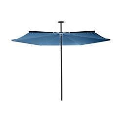 Infina DUSK Round Blue Storm   Parasols   UMBROSA