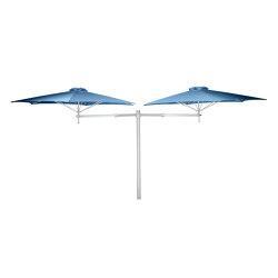 Paraflex Duo Round Blue Storm | Parasols | UMBROSA