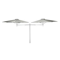 Paraflex Duo Round Grey | Parasols | UMBROSA
