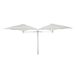 Paraflex Duo Square Canvas | Parasols | UMBROSA