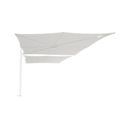 Spectra Duo WHITE Canvas | Parasols | UMBROSA