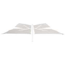 Spectra Multi WHITE Canvas | Parasols | UMBROSA