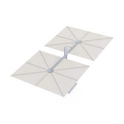 Spectra Opposite ALU Canvas | Parasols | UMBROSA