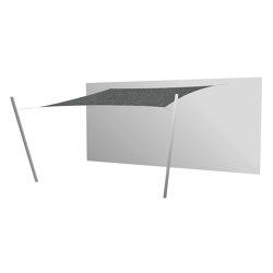Ingenua Square Flanelle | Shade sails | UMBROSA