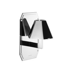Cubist Wall Light on Back Plate | Appliques murales | Czech & Speake