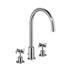 DCA Bath Filler with Pop-Up Waste and Overflow | Bath taps | Czech & Speake