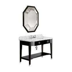 Cubist Vanity Console Table with Mirror | Wash basins | Czech & Speake