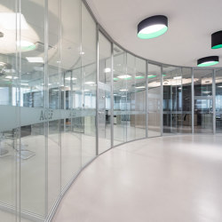 EVO D_LIGHT Partition | Wall partition systems | IVM