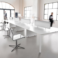 KOSMOS desk | Table dividers | IVM
