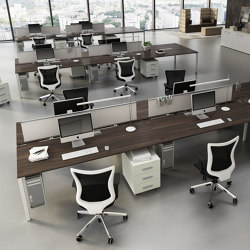 KS LIGHT desk | Table dividers | IVM