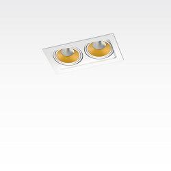 PICCOLO FRAME DEEP 2X CONE COB LED | Plafonniers encastrés | Orbit