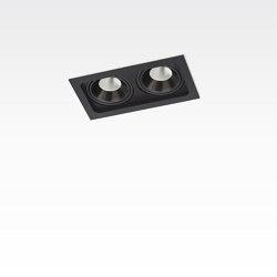 PICCOLO FRAME DEEP 2X CONE COB LED | Lampade soffitto incasso | Orbit