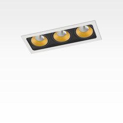 PICCOLO FRAME DEEP 3X CONE COB LED | Plafonniers encastrés | Orbit