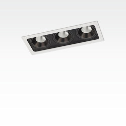 PICCOLO FRAME DEEP 3X CONE COB LED | Lampade soffitto incasso | Orbit