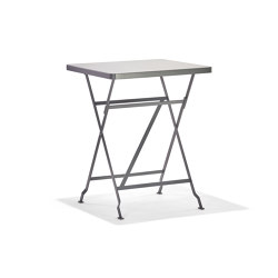 Flip Basaltgrey | Bistro tables | Richard Lampert