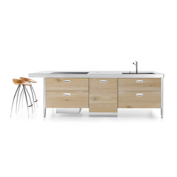 island 280 | Compact kitchens | ALPES-INOX