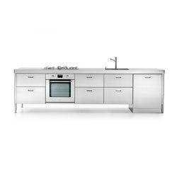 elemento lavaggio cottura 310 | Compact kitchens | ALPES-INOX