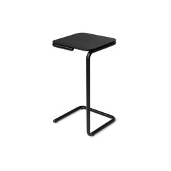 Tuba high black | Side tables | Jakob Schenk