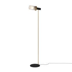 Wharf Floor Light - Brass | Standleuchten | Harris & Harris