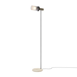 Wharf Floor Light - Steel | Standleuchten | Harris & Harris