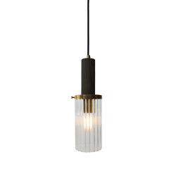 Wharf Pendant Light - Brass | Suspended lights | Harris & Harris