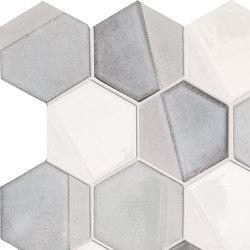 Art Mos. Esagona Dek.Grey | Ceramic mosaics | Ceramiche Supergres