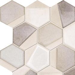 Art Mos. Esagona Dek.Sand | Mosaici ceramica | Ceramiche Supergres
