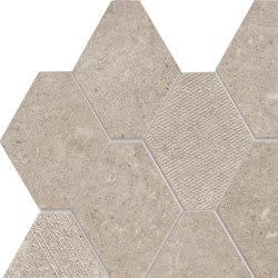 Epika Caramel Mosaico Losanga Dek | Ceramic mosaics | Ceramiche Supergres
