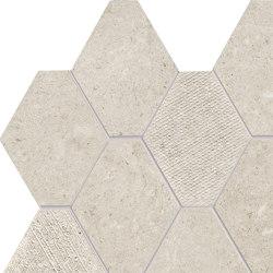 Epika Shell Mosaico Losanga Dek | Ceramic mosaics | Ceramiche Supergres