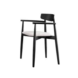 Claretta with Armrest | Chairs | miniforms