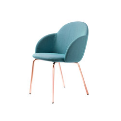 Iola with Armrest | Chairs | miniforms